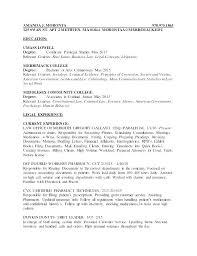 Law Clerk Resume Sample Law Resume Template Resume Federal Law Clerk ...
