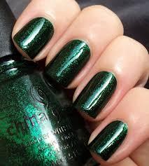 Manikúra S Jasně Zelenou Barvou Gelový Lak Zelený Měsíc Design