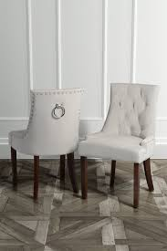 torino dining chair with back ring taupe