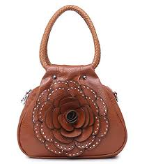Tan Mabel London Womens <b>Cute</b> Mini <b>Handbag</b> - Small <b>Floral</b> ...