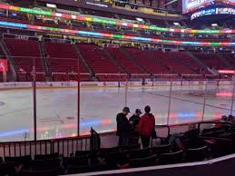 Pnc Arena Section 107 Home Of Carolina Hurricanes North