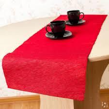 Купить <b>Дорожка на стол</b> Фест Цвет: <b>Красный</b> (33х140 см) Arloni в ...