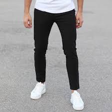 Pants In Slim Smart Wear Pants In Black