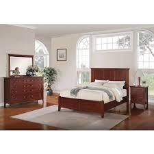 bedroom furniture sets. Wonderful Bedroom Forest Lake 5Piece Queen Bedroom Set  Mahogany Intended Furniture Sets