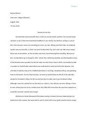 a day i will never forget essay jade fox a day i will never  most popular documents for english 1301