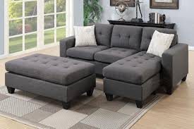 sectional sofa. Brilliant Sofa Grey Fabric Sectional Sofa And E
