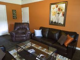 burnt orange and brown living room. Burnt Orange Paint Color Living Room Iron Base Patio Umbrellas. Furniture. Simple And Brown T