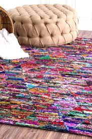 full size of millarcm01 hand tufted prismatic trellis rag rug modern rag rug