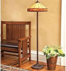 latest stained glass floor lamp style mission guest room table dale tiffany noir