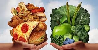 junk food vs healthy food. Modren Food To Junk Food Vs Healthy N