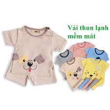 Đồ bộ cộc tay cho bé trai và bé gái chất thun lạnh QATE653 , quần áo trẻ em  cho bé từ sơ sinh đến 16kg tốt giá rẻ