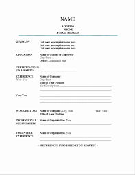 Resume Templates Doc Free Download Simple Resume Format In Doc Fresh Resume Templates Doc Free 92