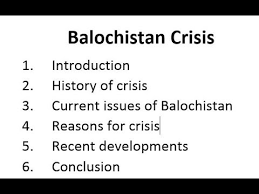 balochistan crisis complete analysis regarding to essay and  balochistan crisis complete analysis regarding to essay and current affairs