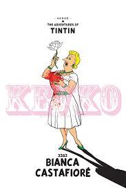 Les Aventures De Tintin Album Imaginaire Bianca Castafiore