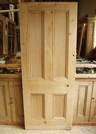 antique pine 4 panel victorian internal door
