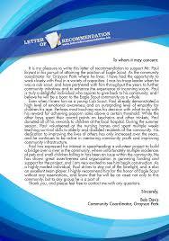 Eagle Scout Letter of Re mendation Sample