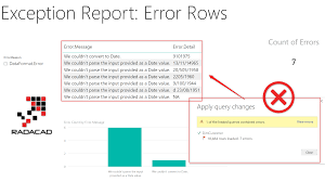 Exception Reporting In Power Bi Catch The Error Rows In