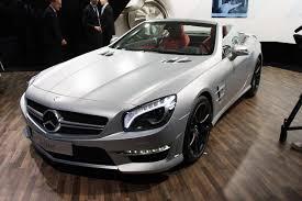 Облегчённый Mercedes-Benz SL63 AMG 2013–года   2012 Geneva ...