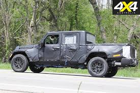 2018 toyota ute. interesting ute 2018 jeep wrangler ute spy pics rear on toyota s