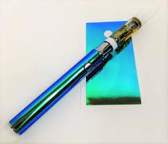 Designer Vape 510 Threaded Battery Pen Vape Skin Wrap Decal Vinyl Sticker Holographic Designer Mermaid