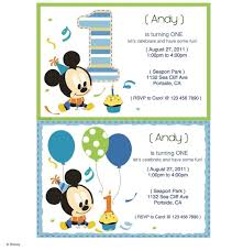 Mickey Mouse Printable Party Invitations Disney Family