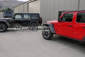 2018 jeep wrangler rubicon. Delighful 2018 Uncovered 2018 Wrangler JLU Rubicons Hit The Streets With Jeep Wrangler Rubicon