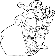 Small Picture 25 unique Santa coloring pages ideas on Pinterest Christmas