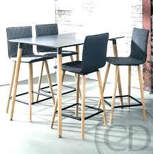 Ensemble Table Haute Et Chaise Ensemble Table Haute Chaises ...
