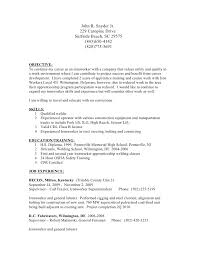 facility - Iron Worker Resume