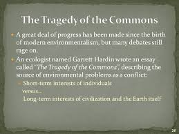 introduction to environmental science ppt video online  the tragedy of the commons