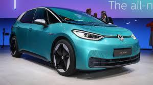 Volkswagen Car With Screw Light Volkswagen Id 3 Electric Vw Goes Live In Frankfurt Read