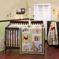 pooh bear nursery | Disney Baby Pooh ABC 4-Piece Crib Bedding Set ...