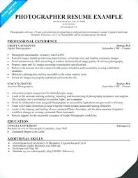 Photographer Resume Template Interesting Wedding Photography Resume Template Example Photographer Download