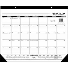 calendar desk pads at a glance nonrefillable 16 month desk pad pertaining to modern residence at a glance desk calendar plan