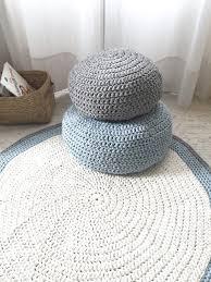 Floor Pillows And Poufs Modern Crochet Floor Cushions Nursery Decor Kids Floor Cushion