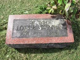 Lottie Elisa Holt Hansen (1891-1944) - Find A Grave Memorial