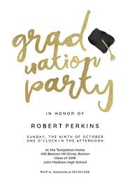 Graduation Party Invitation Template Hats Off Graduation Party Invitation Graduation Party