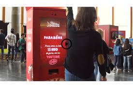 Nestle Vending Machine Unique THE EXTRAORDINARY VENDING MACHINES KITKAT Nestlé J Walter