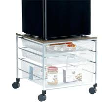 mini refrigerator stand stand for small refrigerator small refrigerator stand platinum mesh compact fridge cart a roll over to mini fridge nightstand diy