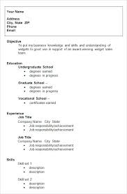 Examples Of College Resume Resume Examples For College Graduates ...