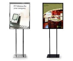 Foam Board Display Stand Indoor Sign Display Stand Model IS100 16