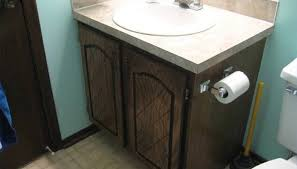 Fabulous How To Reface Bathroom Cabinets And Replace Doors