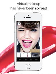 make up genius interactive augmented reality l oreal beauty s make up app