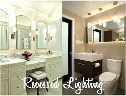 led lighting in bathroom. Recessed Lighting For Bathroom Can Lights In Image Of  Innovations . Led