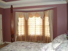Window Treatment For Bay Windows In Living Room Decoration Bay Window Ideas Curtain Rods Walmart For Windows
