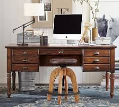desks for home office. Printer\u0027s Keyhole Desk Desks For Home Office Pottery Barn