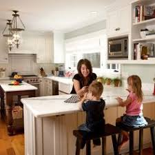Kitchen Remodel Island Design Traffic Work Triangle