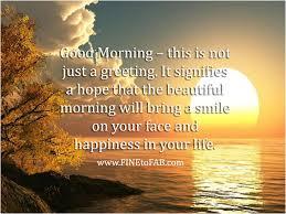 25 inspirational good morning es