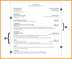 Resume For College Freshmen 20 Freshman Resume.college Student Resume Part  Time Job Sample Good