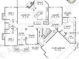 5 bedroom ranch house plans hillside home plans ranch house plans with walkout basement